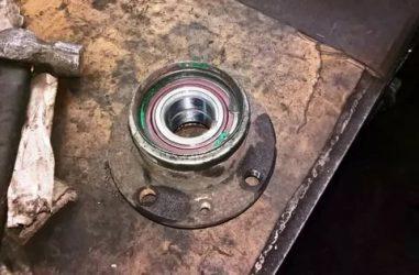 Как заменить задний ступичный подшипник на калине?