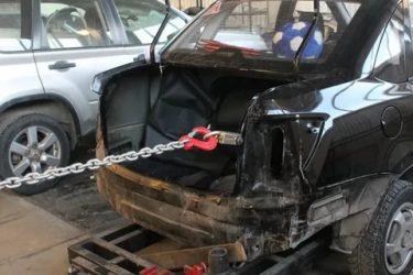 Как вытянуть заднюю часть машины своими руками?